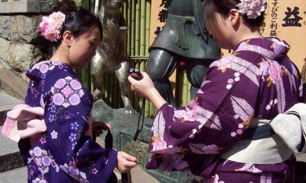 Die Frauen in der japanischen Gesellschaft