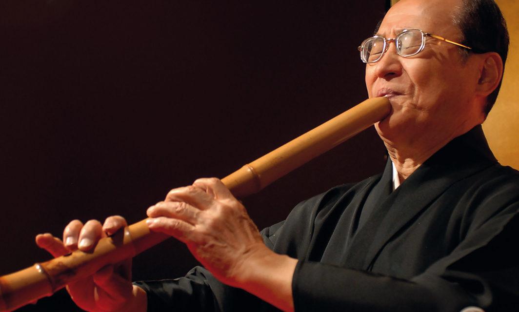 Shakuhachi-Konzert mit Tajima Tadashi